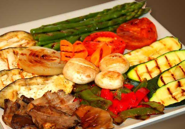Parrillada de verduras bor bor for Parrillada verduras